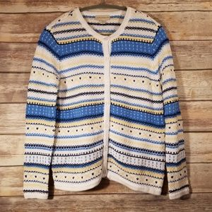 Appleseed's Nordic Button Cardigan
